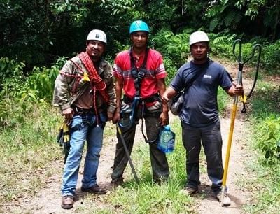belize jungle training