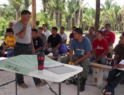 Training in Belize