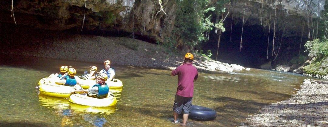 belize cave tubing jaguar paw