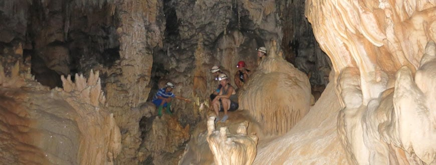 belize crystal cave group