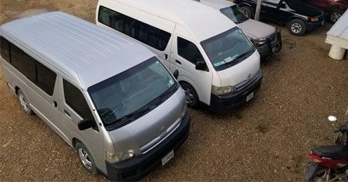 belize transportation vans